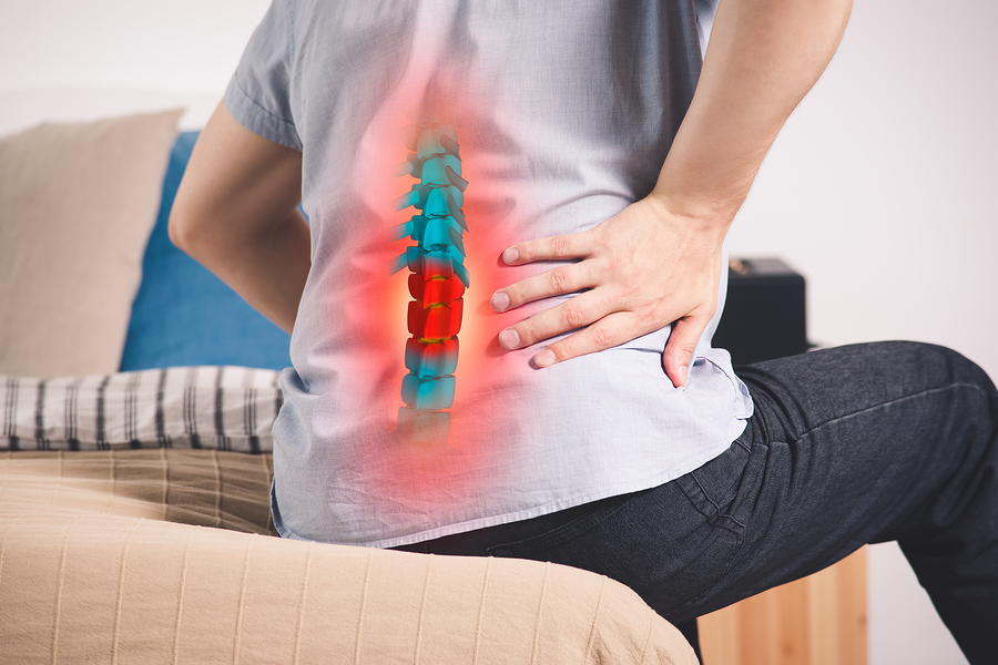 back pain, chiropractor in Escondido